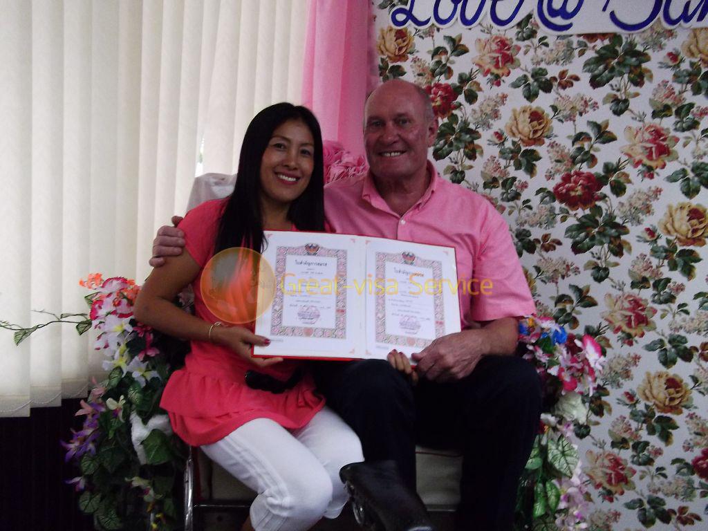 รูปตัวอย่างลูกค้าที่บริการ รับจดทะเบียนสมรส 42