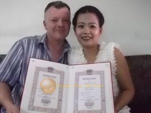 รูปตัวอย่างลูกค้าที่ใช้บริการ รับจดทะเบียนสมรส 03
