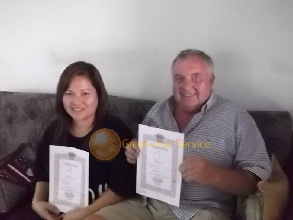 รูปตัวอย่างลูกค้าที่บริการ รับจดทะเบียนสมรส 25