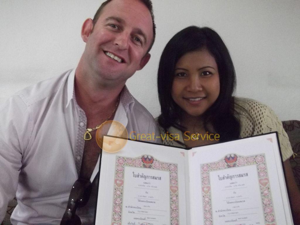 รูปตัวอย่างลูกค้าที่บริการ รับจดทะเบียนสมรส 10