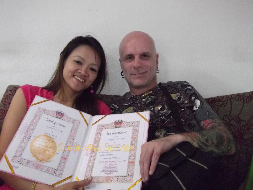 รูปตัวอย่างลูกค้าที่บริการ รับจดทะเบียนสมรส 01